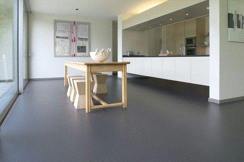 Marmoleum Vloer Verven : Materiaal marmoleum piano not black een soort linoleum dat