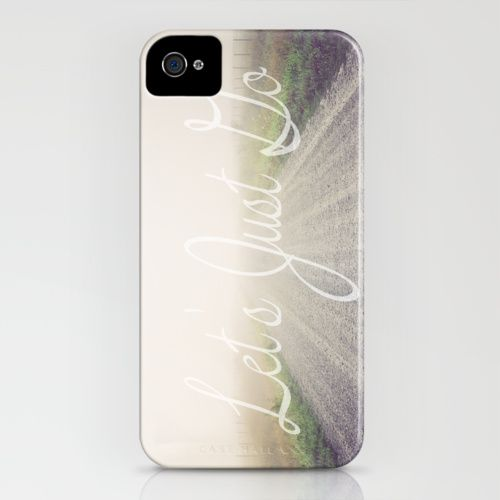 Let's Just Go iPhone Case