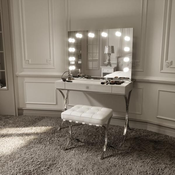 Best Scarlett Large Hollywood Mirror Hollywood Mirror With 400 x 300
