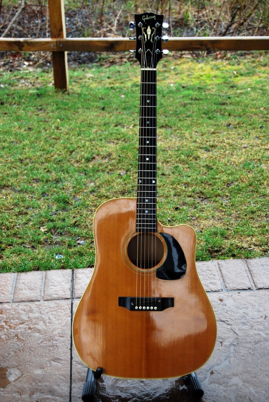 guitar 1968 gibson heritage acoustic guitar vintage with