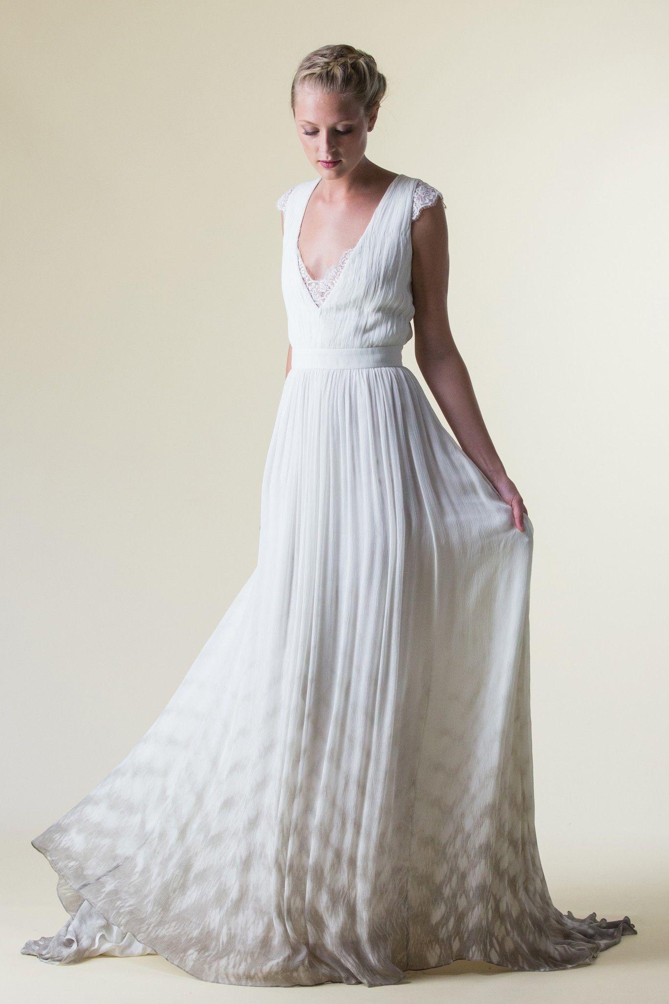 Grey Goddess | Handmade wedding dresses, Handmade wedding and ...