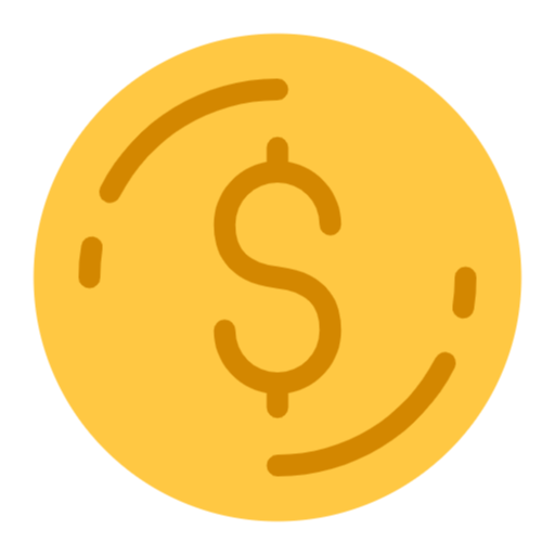 Free Coin Png Svg Icon Coin Icon Coins Social Media Icons Free