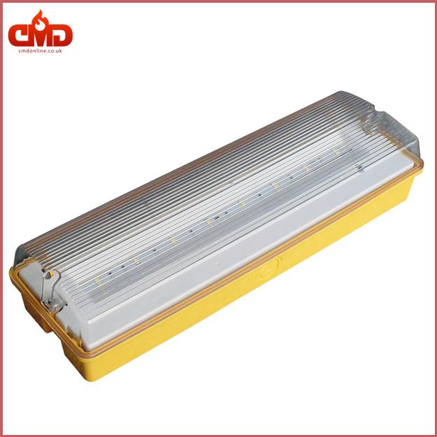 led emergency maint fitting 110v energy efficient 4 5w bulkhead