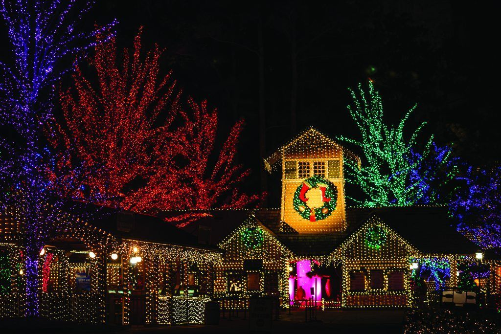 Where To See The Brightest And Most Beautiful Holiday Christmas Lights In Atlanta Decorating With Christmas Lights Holiday Lights Display Best Christmas Lights