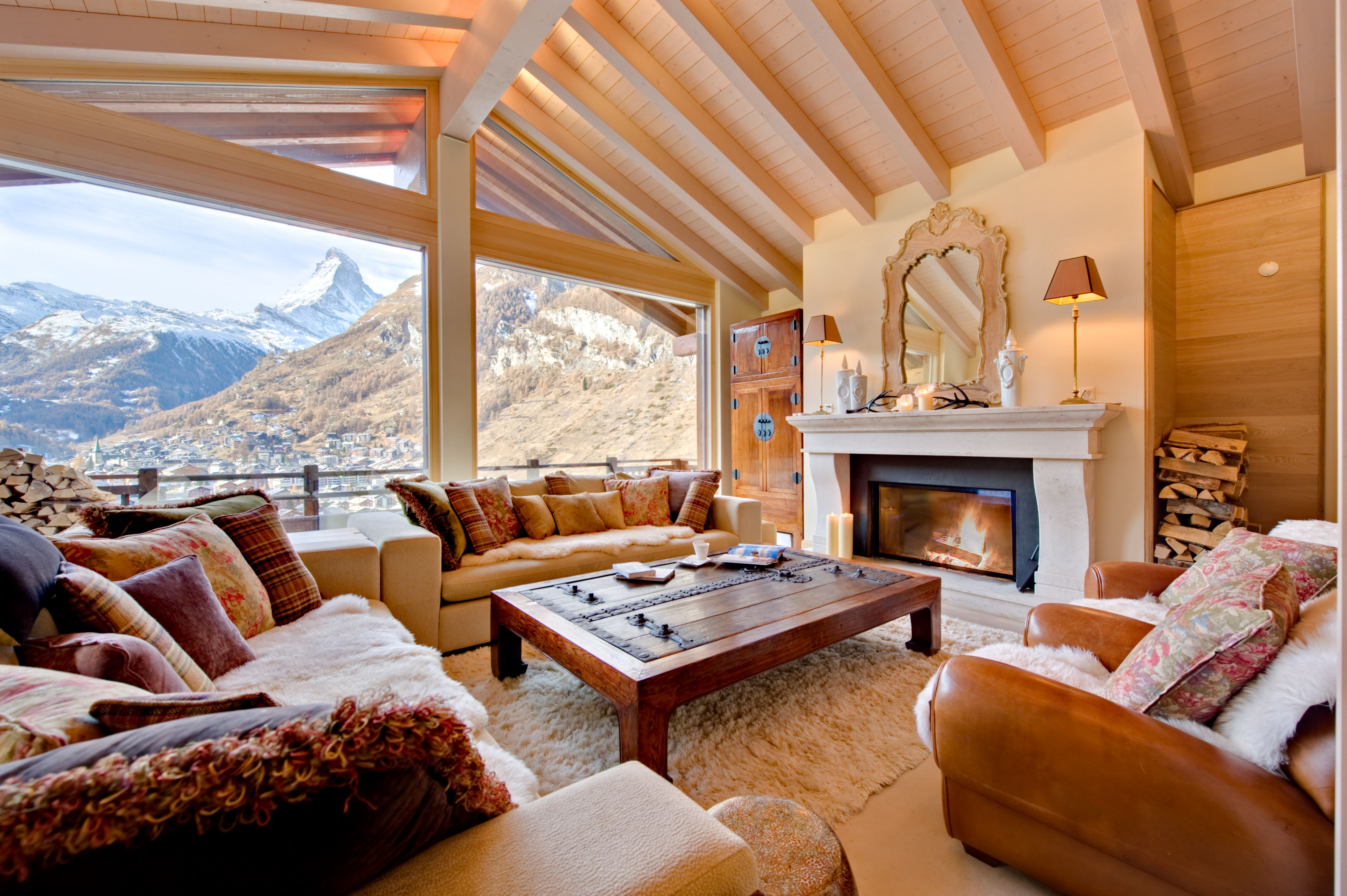 Luxury Chalets on Airbnb