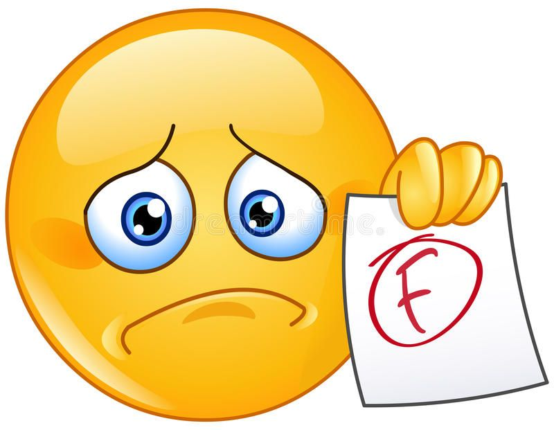 F Grade Emoticon Disappointed Emoticon Showing A Paper With F Failure Grade Spon Disappointed Emoticon Grade Failur Funny Emoticons Emoticon Smiley