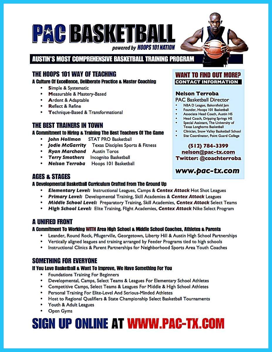 college basketball player resume sample