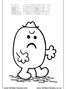 Mr Men- Variety of coloring sheets with various