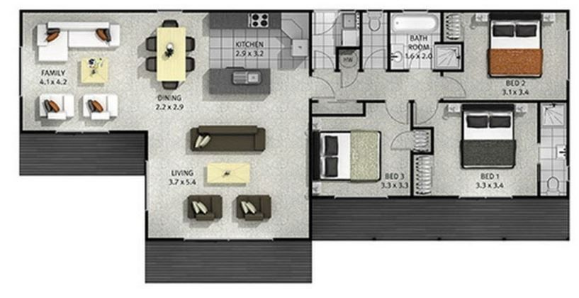 planos de casas pequenas en guatemala