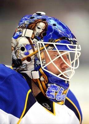 The Coolest Nhl Goalie Masks Goalie Mask St Louis Blues Hockey Goalie