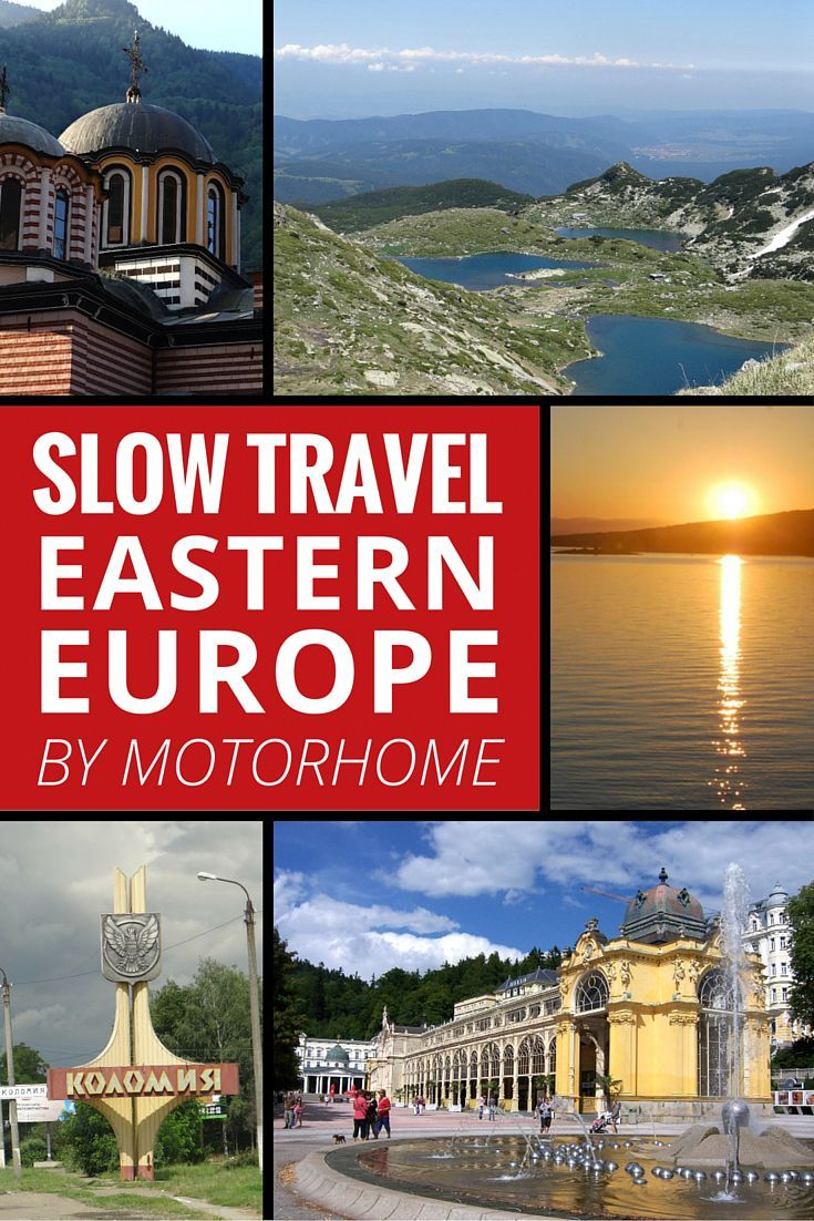Slow travel Eastern Europe by Motorhome