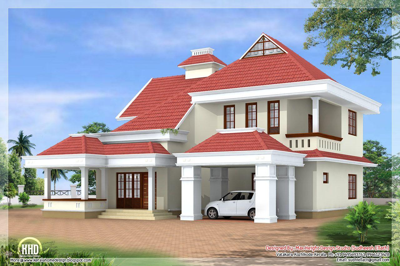 Information Luxury Home Contact Designed Floor Plans Trendy Bedroom Kerala House Design Sq Ft Information L Kerala House Design House Design Floor Plan Design