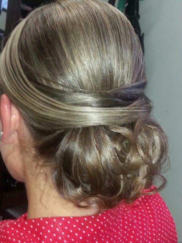 Peinado  glamour