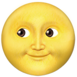 Full Moon With Face Emoji U 1f31d Emoji Wallpaper Emoji Emoji Backgrounds