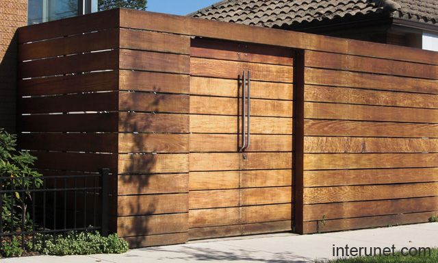 Ipe Fence Picture Wood Fence
