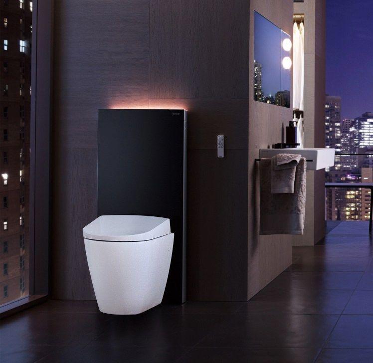 Ensemble monolith plus avec lumi re led geberit tendance wc suspendus pinterest wc mit - Duschwand reinigen ...