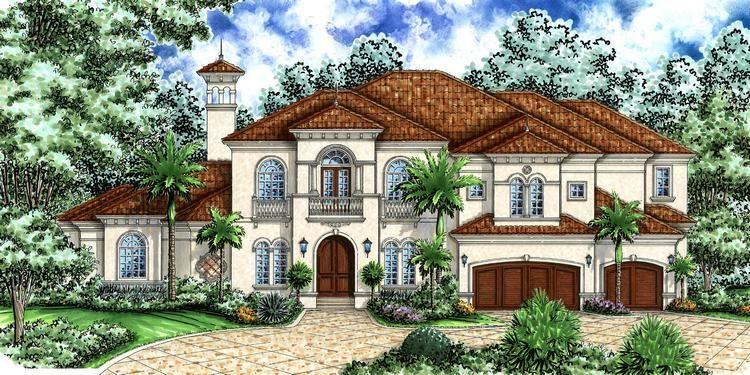 House Plan 575 00054 Luxury Plan 5 332 Square Feet 4