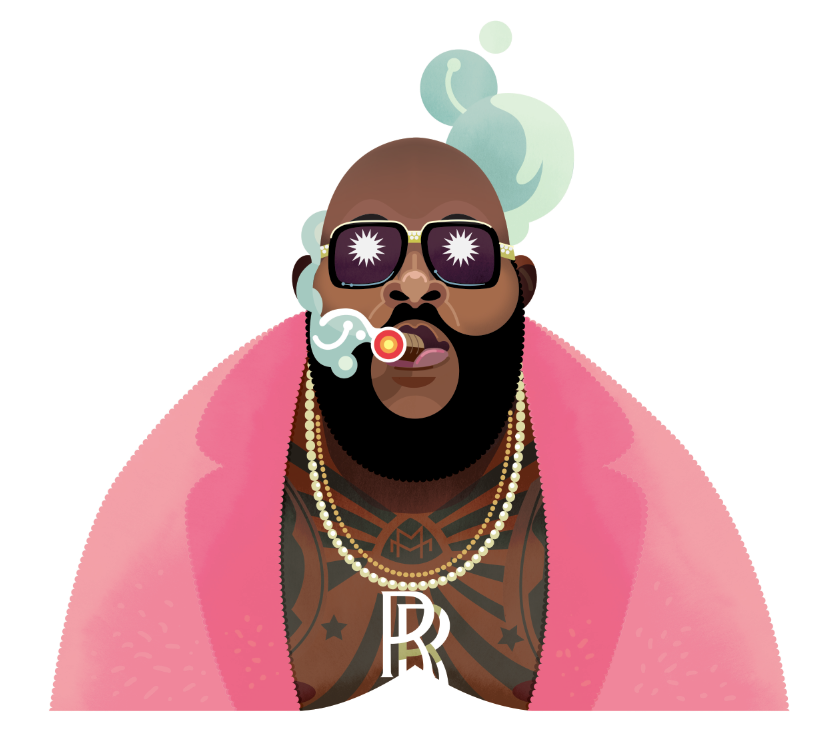 Rick Ross By Bobshell On Deviantart Rick Ross Graphic Artist Rick Ross Hustlin