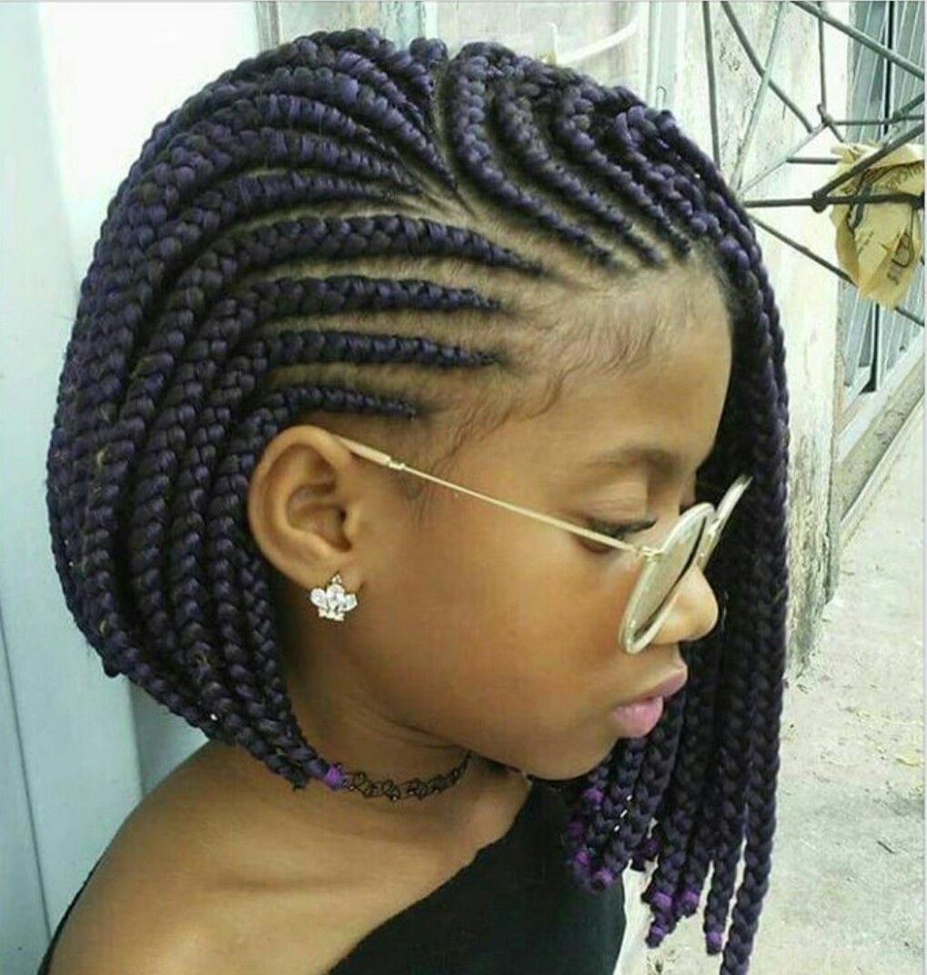 Hairstyles For Kids These 3 Cute Flat Twist Hairstyles Take Winning Prize  For Being