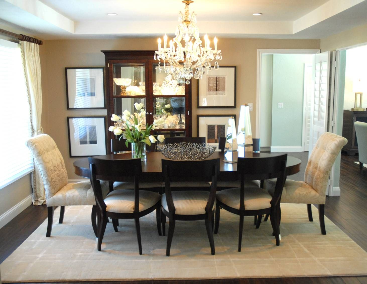 Dining Room Designed By Condace Adams. Ethan Allen, Torrance CA.