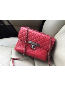 cdf31aefffcb Chanel Supple Calfskin Flap Bag Red Fall-Winter 2015 16 Pre-Collection