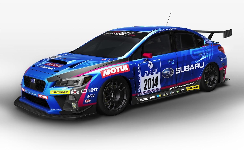 2015 subaru wrx sti nurburgring 24 hour racecar official unveiled
