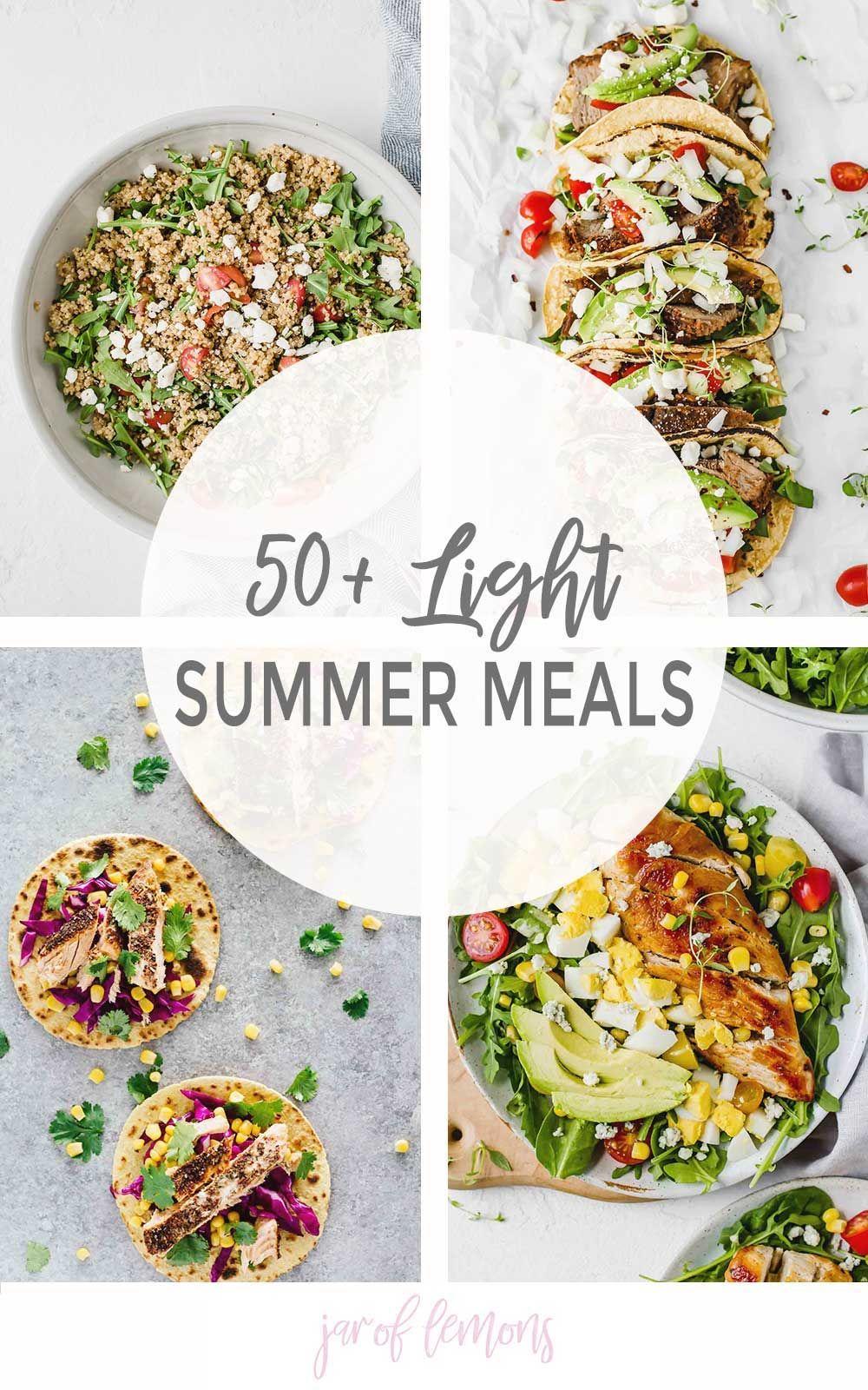 50+ Light Summer Meals images