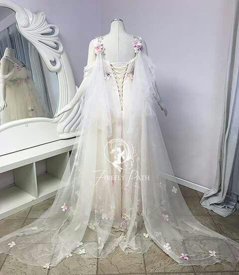 Goddess Wedding Gown: Fantasy Wedding Dresses, Fairy
