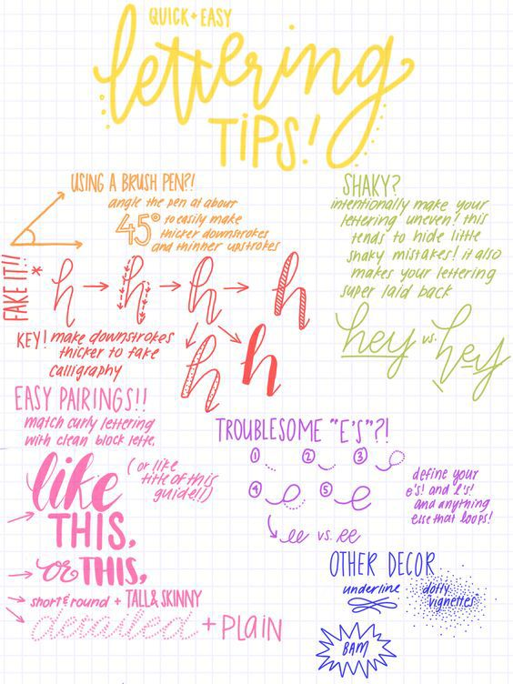 20 Tips How To Make Your Bullet Journal Look Really Pretty
