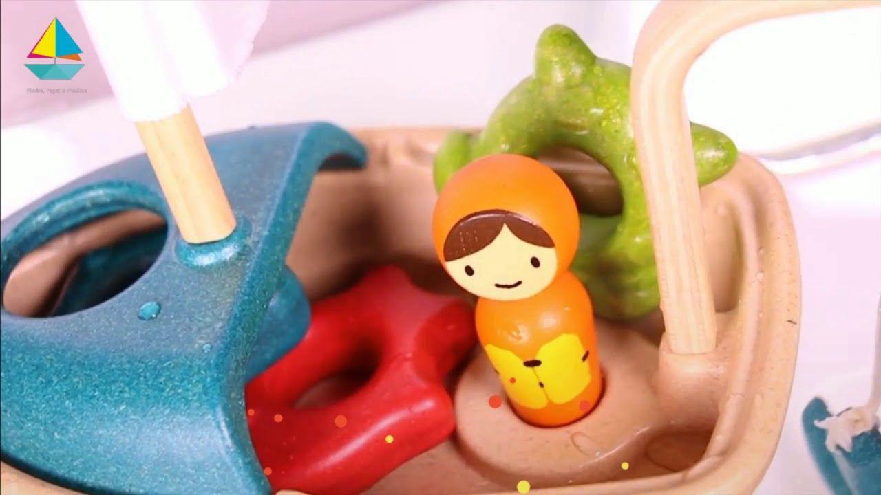 barquito de juguete con actividades de plantoys juguetes para