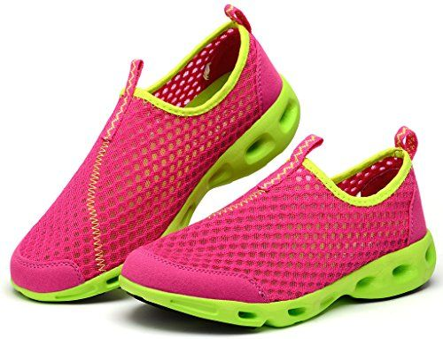 Lisyline Womens Mesh Slip On Quick Drying Aqua Water Shoes -- Read more  at the image link.