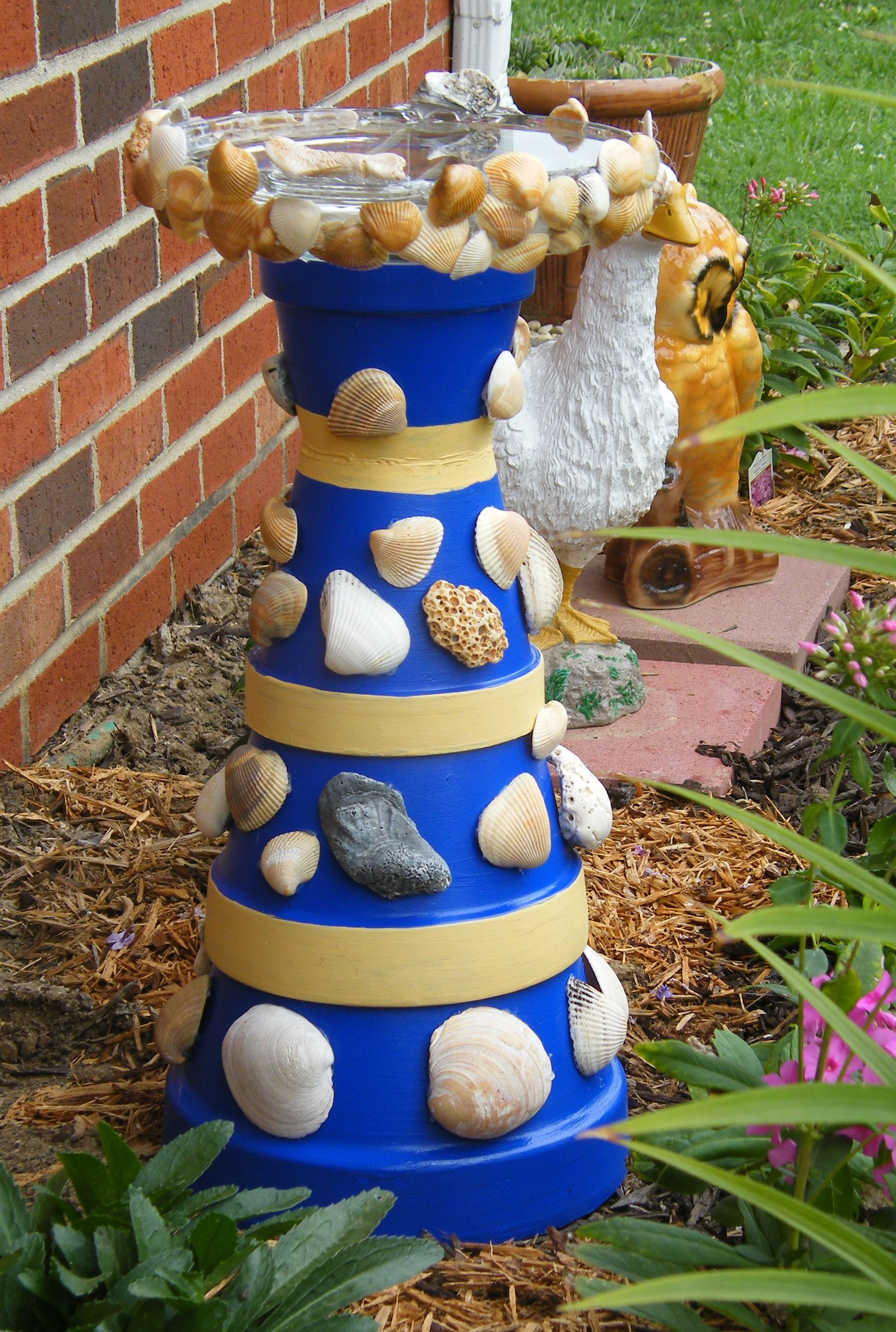 Crafts with clay pots - Clay Pot Crafts For Christmas