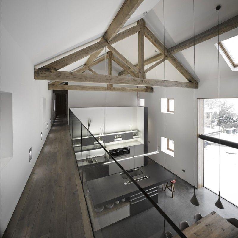 Rénovation d\'une grange par Snook Architects   South yorkshire ...
