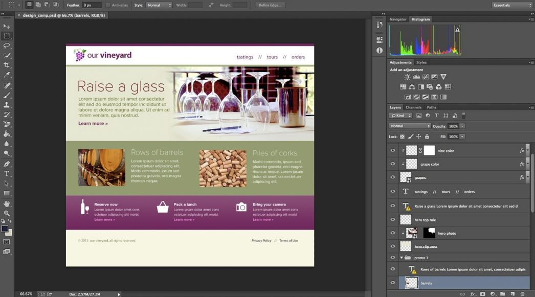 How To Create And Generate Web Graphics With Adobe Generator Adobe Photoshop Cc Tutorials Photoshop Web Design Web Graphics