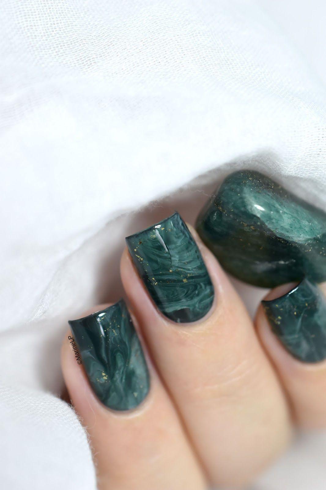 Nailstorming Objet De Dco Stone Marble Nail Art Video Tutorial