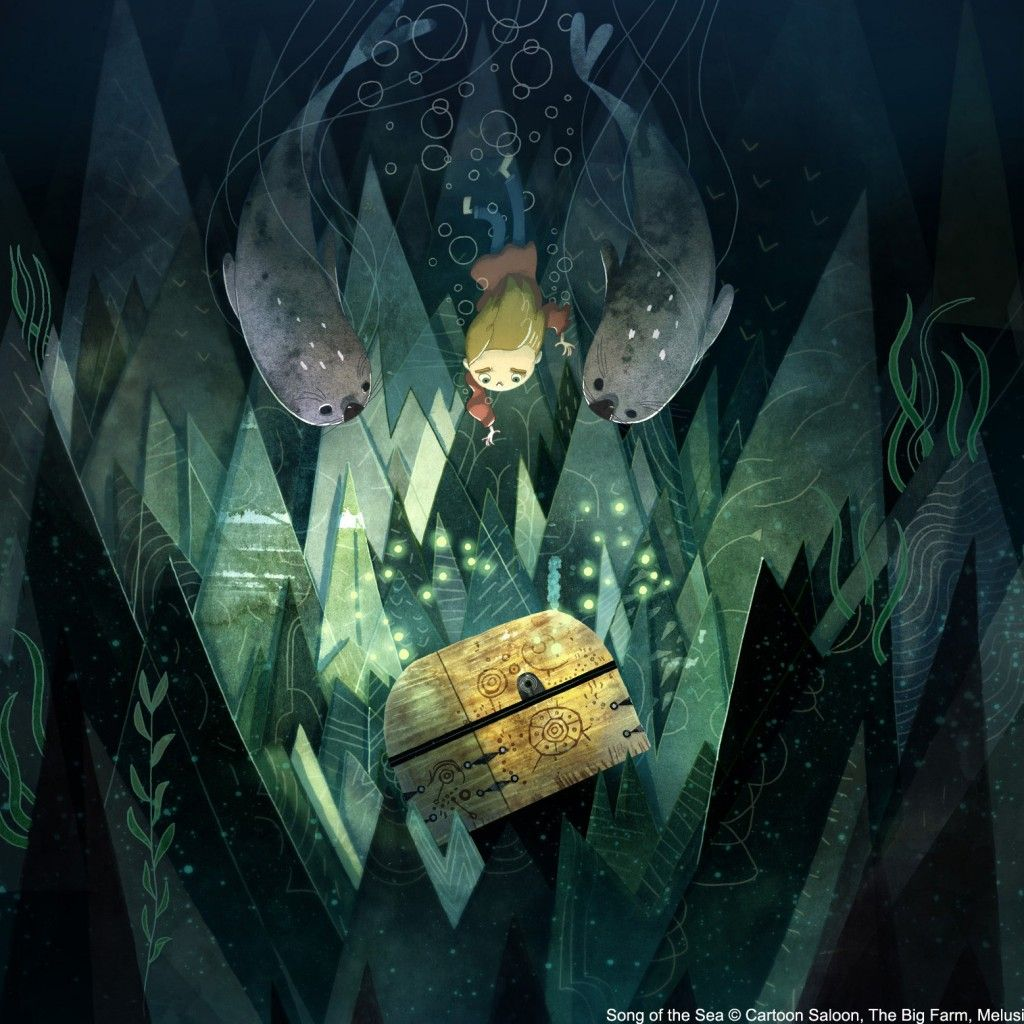 Song Of The Sea New Hd Wallpapers Song Of The Sea Sea Illustration