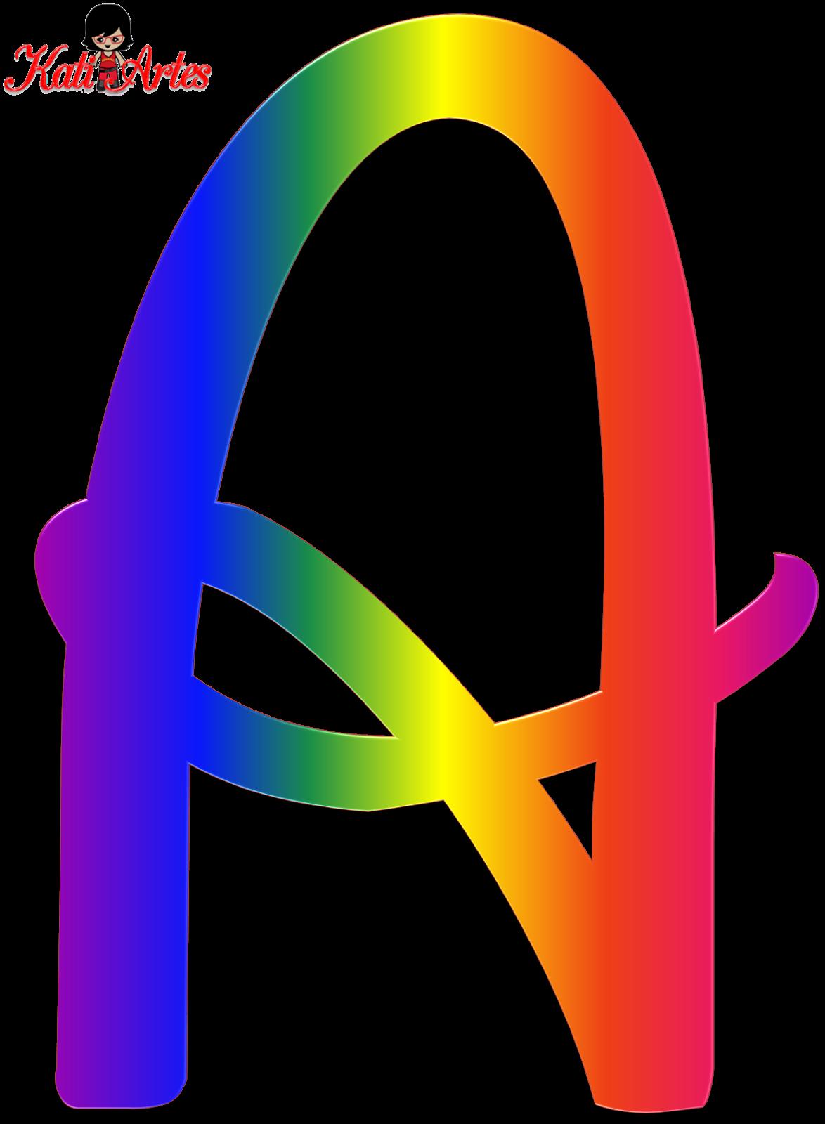 Alfabeto tipo Disney de colores. | abecedarios y Numeros ...
