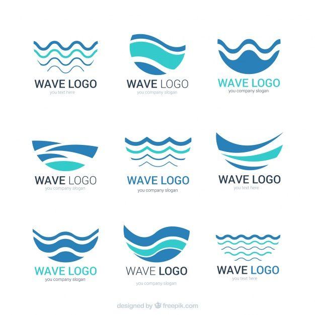 Waves Logo, Water Logo, Branding