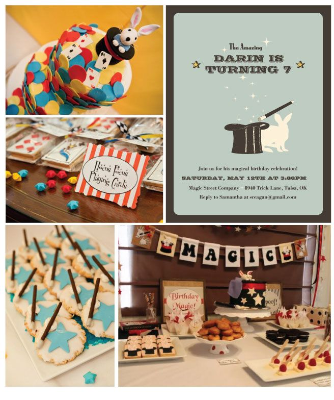 What a cute theme Maybe when Landon is a little older Party