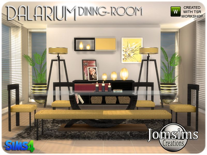 Dalarium Dining Room Sims 4. Found In TSR Category U0027Sims 4 Dining Room Sets