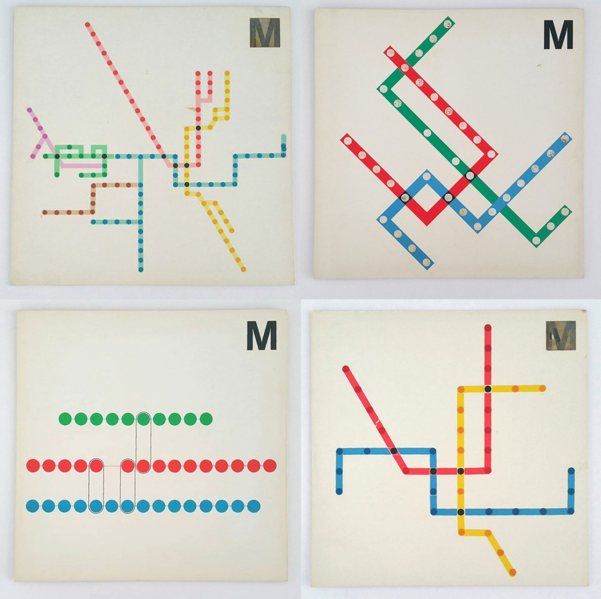 A Subway Map Is A Good Example Of A.Massimo Vignelli S Unused Maps For The D C Metro Are Amazing
