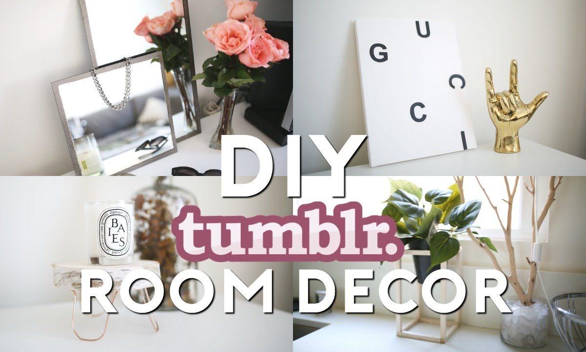 Diy Tumblr Room Decor Minimal Easy Tumblr Room