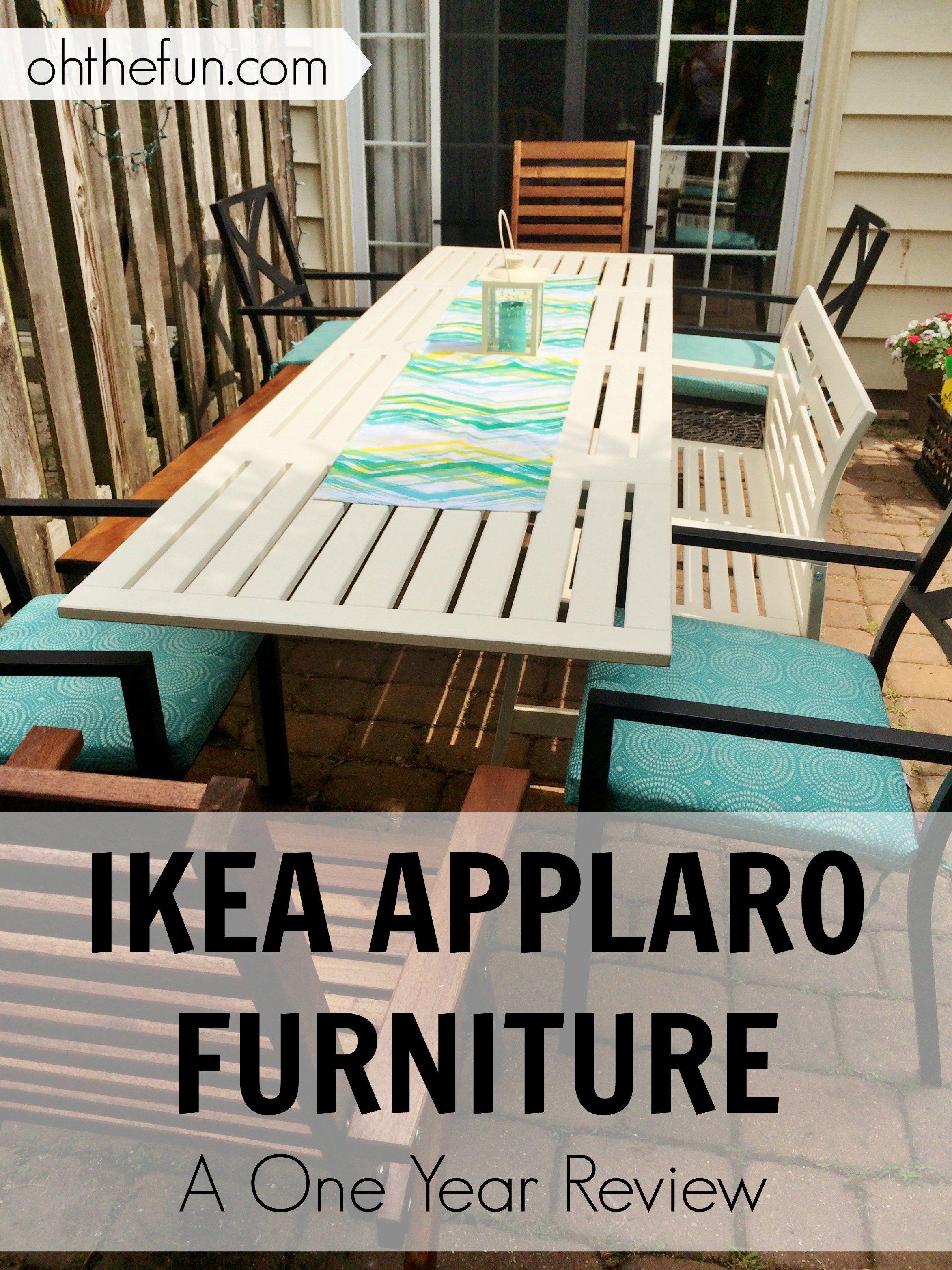 Ikea Applaro Furniture- A One Year Review  Ikea applaro