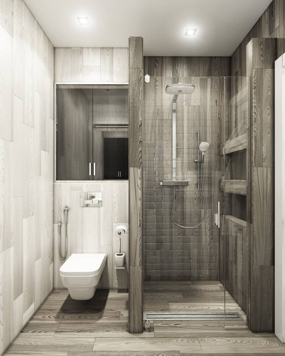 Baños De Estilo Por Eclectic Designstudio Shower Ideas