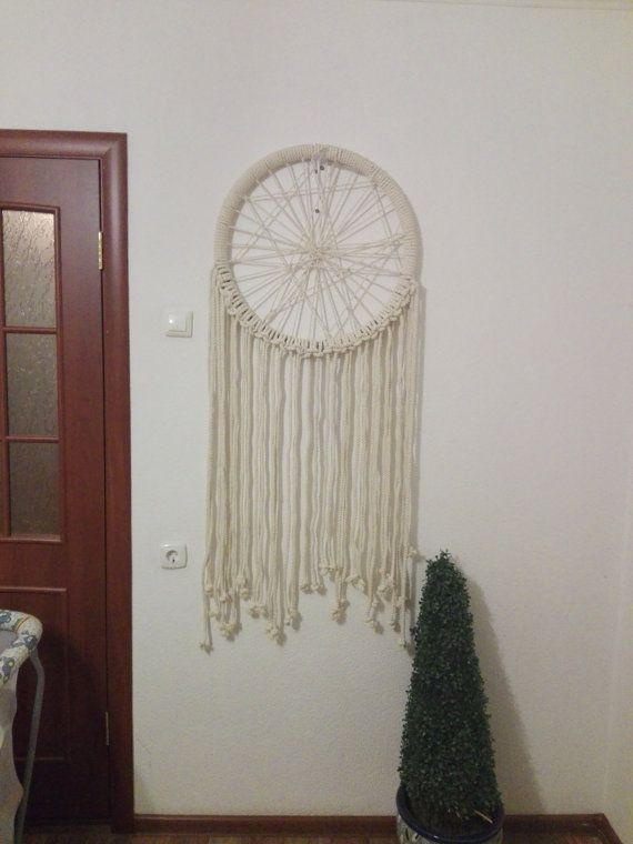 How Much Are Dream Catchers Large Dream Catcher Macrame Wall Hanging Large Macrame Wall 40