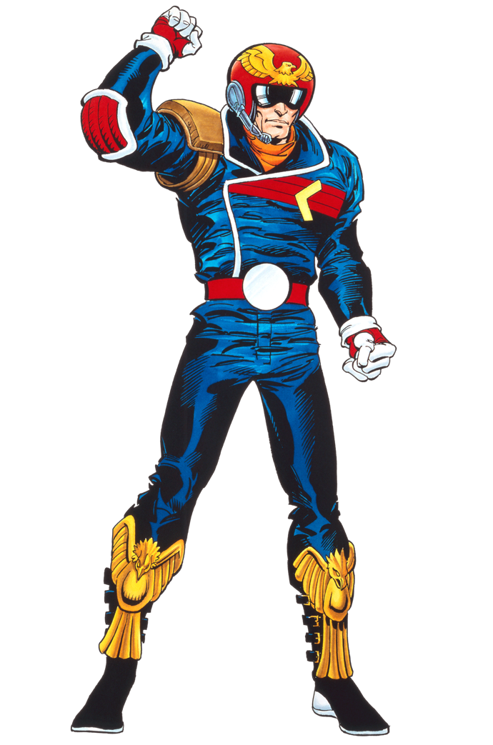 Captain Falcon Anime FZero GP Legend Birthday
