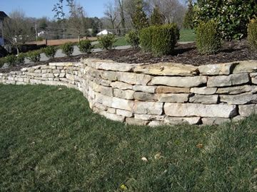 Stacked stone retaining wall for tree surround front entry remodel stacked stone retaining wall for tree surround workwithnaturefo