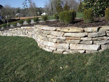Peachtree City Stone Walls Stone Retaining Wall Landscaping