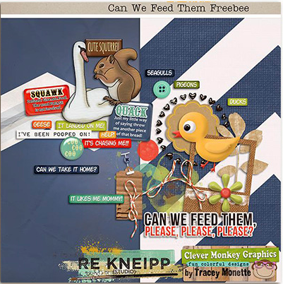 Can We Feed Them mini kit freebie from Re Kneipp and Clever Monkey Graphics