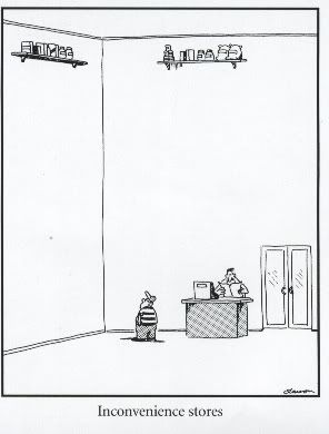 inconvenience stores gary larson s the far side always think of